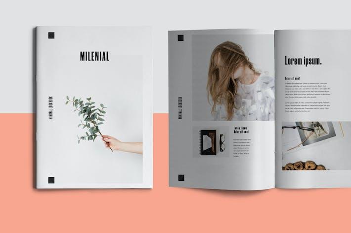 Thumbnail for Millenial - Brochure Template