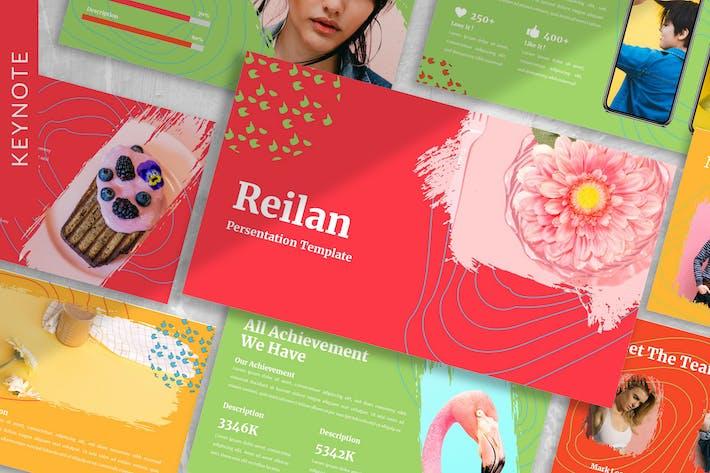 Reilan - Colorful Keynote Template