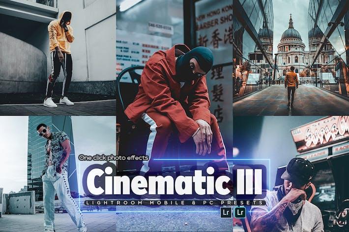 Cinematic III Lightroom Presets