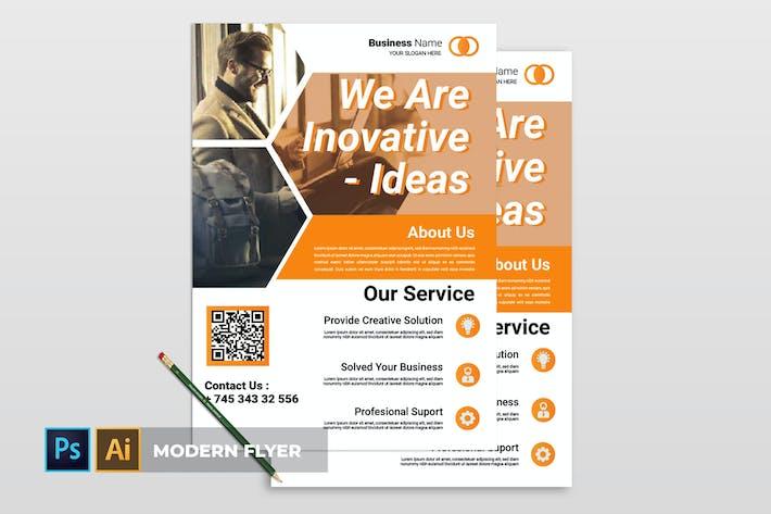 Thumbnail for Modern | Flyer