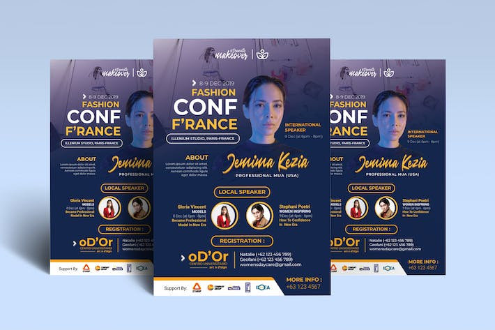 Beauty Conference / Workshop Poster