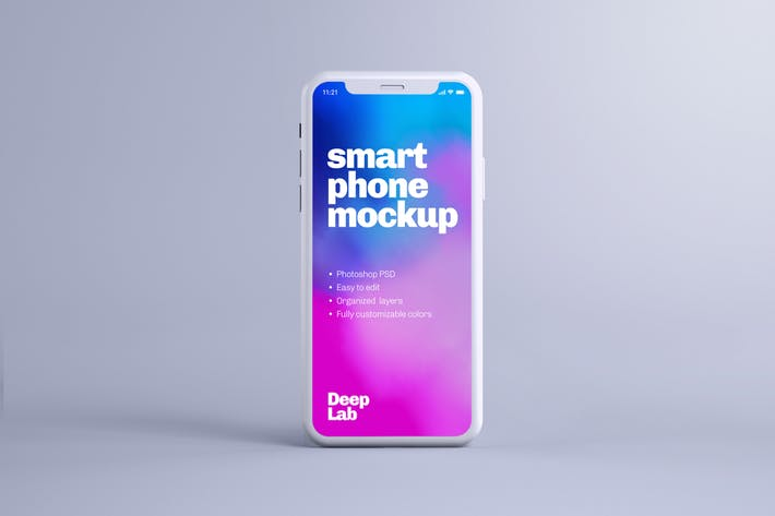 Thumbnail for iPhone 11 Pro Clay Mockup