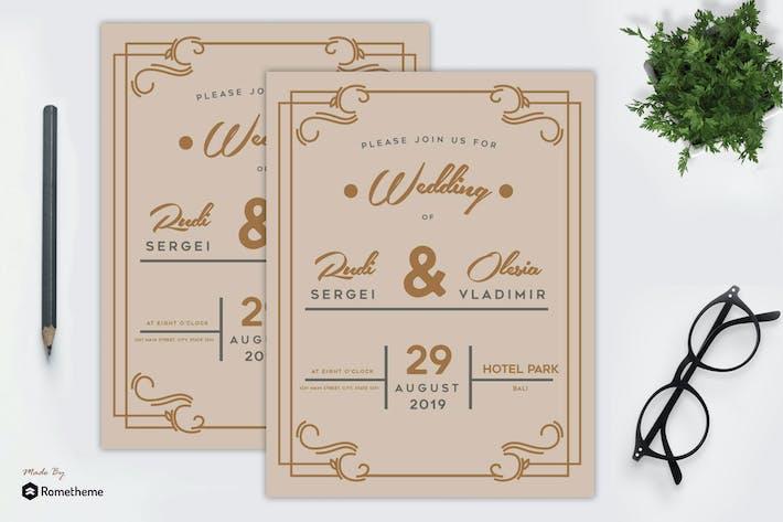 Thumbnail for Wedding Invitation vol. 02 MR