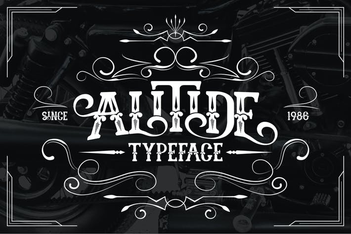 Thumbnail for ALITIDE Typeface