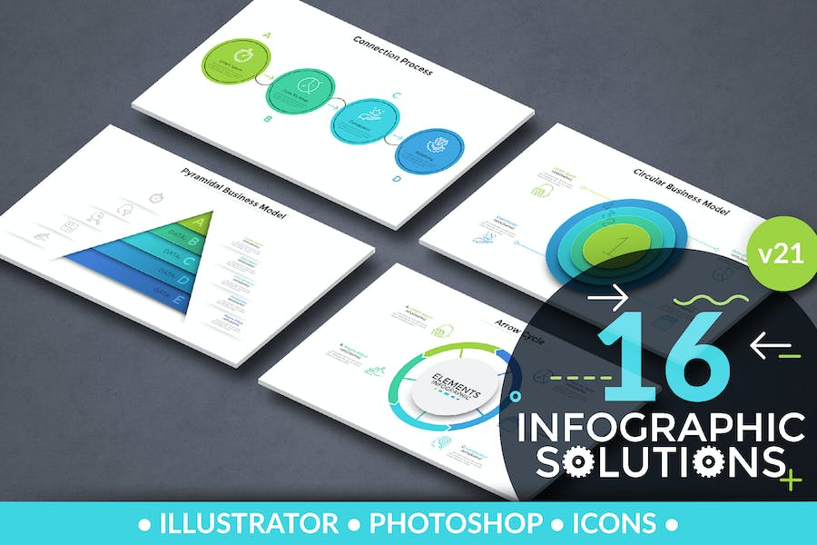 Infographic Solutions. Part 21