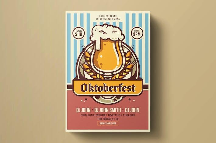 Thumbnail for Oktoberfest Flyer Template