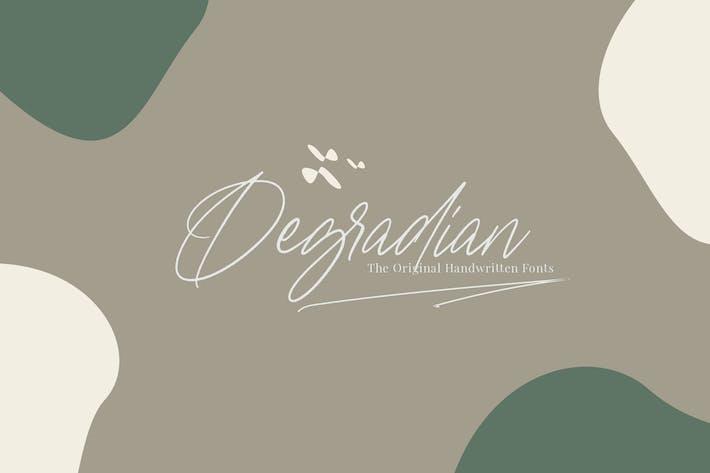 Thumbnail for Degradian - Police manuscrites
