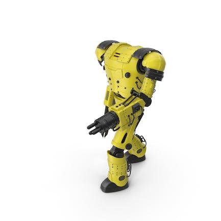 Robot amarillo