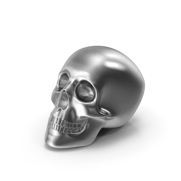 Thumbnail for Metallschädel