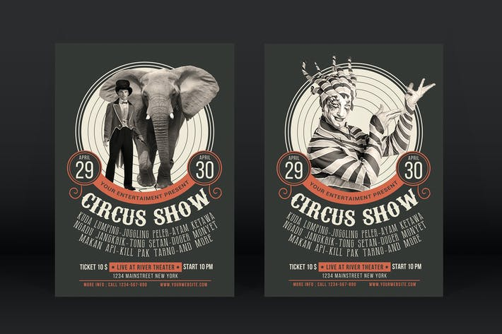 Thumbnail for Circus Show Flyer