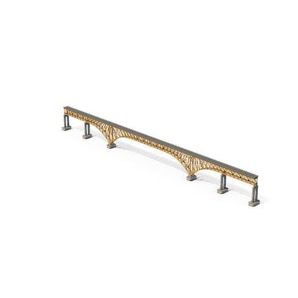 Stahlbogen-Brücke