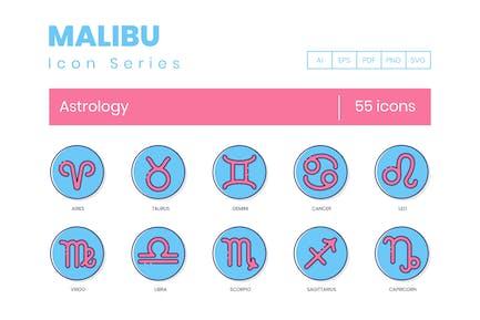 Horoscope Icons - Rounded