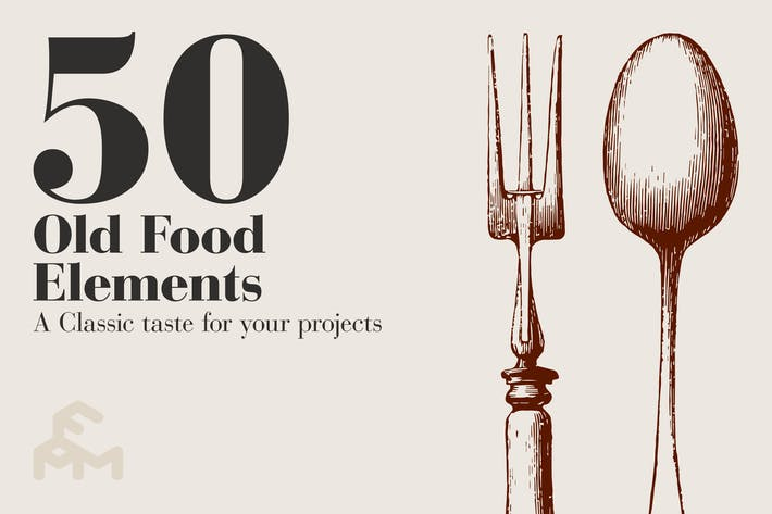Thumbnail for 50 Old Food Elements