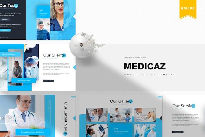 Thumbnail for Medicaz  | Google Slides Template