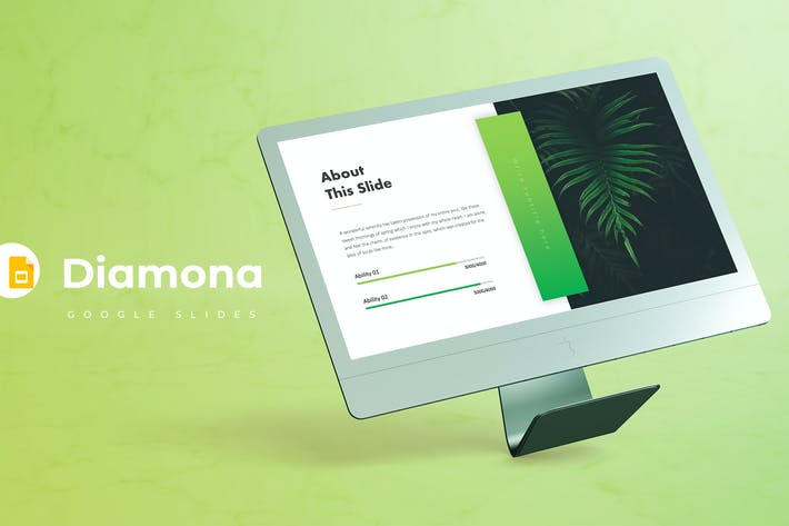 Cover Image For Diamona - Google Slide Template