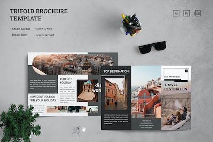 Travel - Trifold Brochure