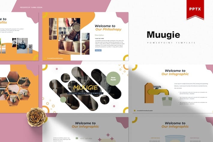Thumbnail for Muugie | Powerpoint Template