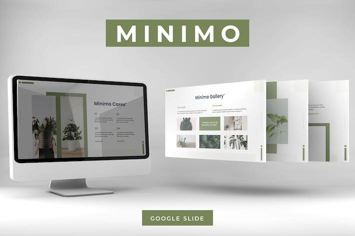 Thumbnail for Minimo - Google Slides Template
