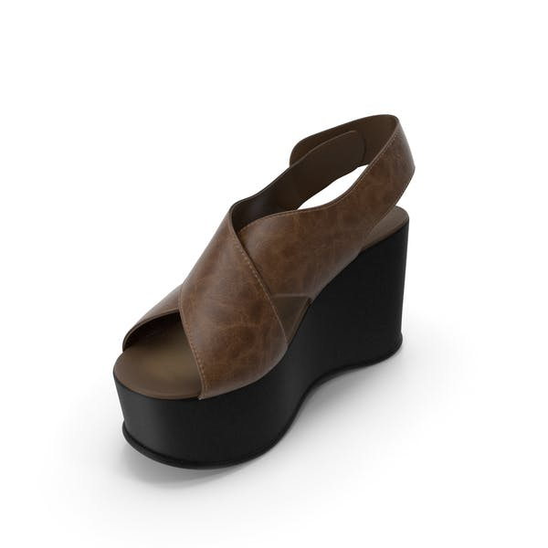 Women's Shoes Black Brown