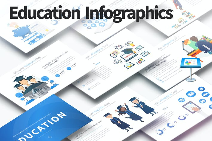 Thumbnail for EDUCATION - Keynote Infographics Slides