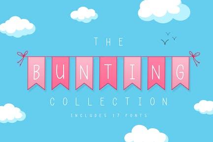 La Colleción de fuentes Bunting
