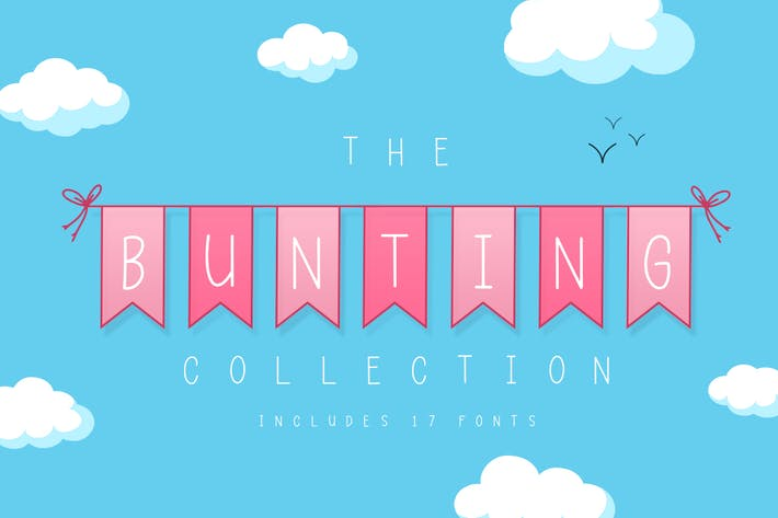Thumbnail for The Bunting Font Collection