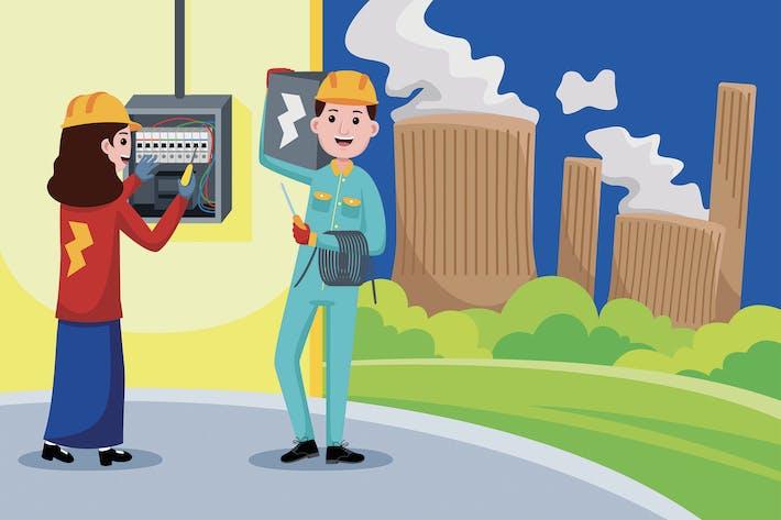 Elektriker-Beruf