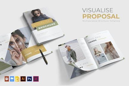 Visualise | Brochure Template