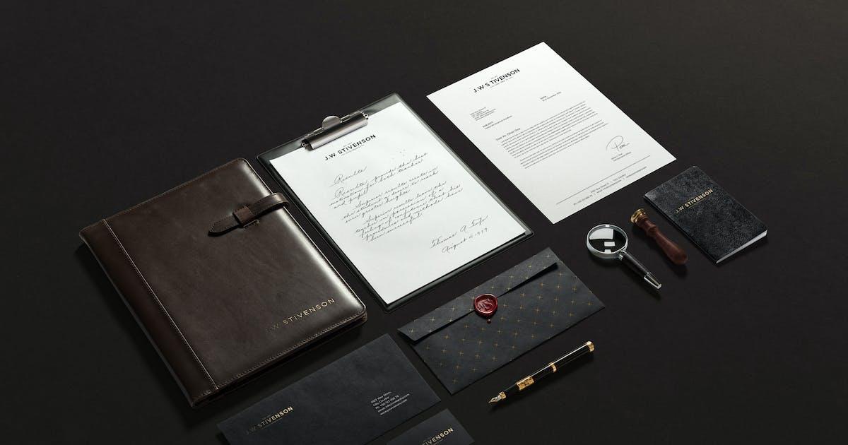 Luxury Branding Mockup by Genetic96