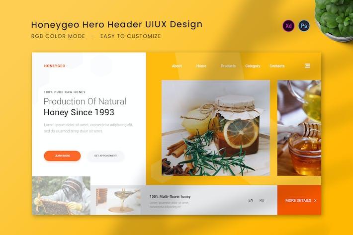 Honeygeo Hero Header