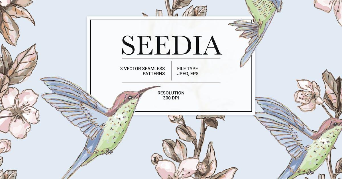 Download Seedia – Vector Seamless Pattern by helloDigi