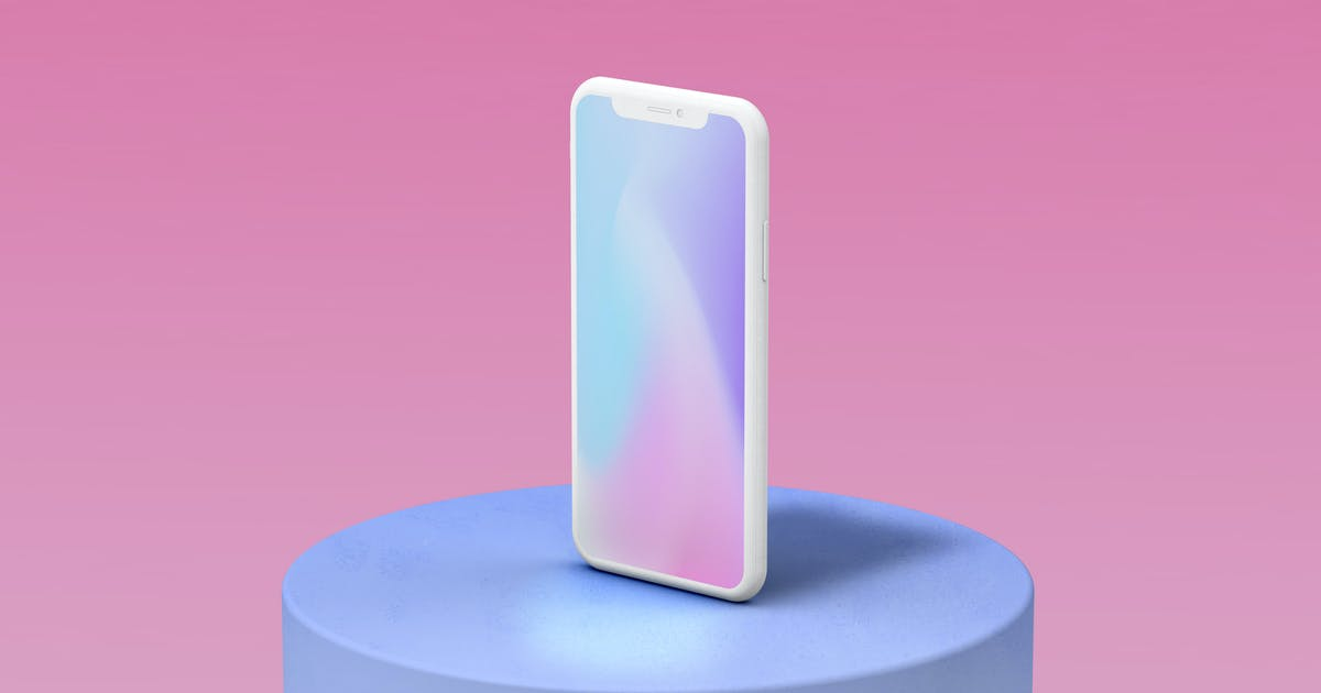 Download iPhone 11 Pro Clay Mockup by amritpaldesign