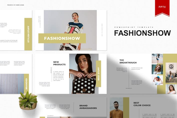 Thumbnail for Fashionshow | Powerpoint Template