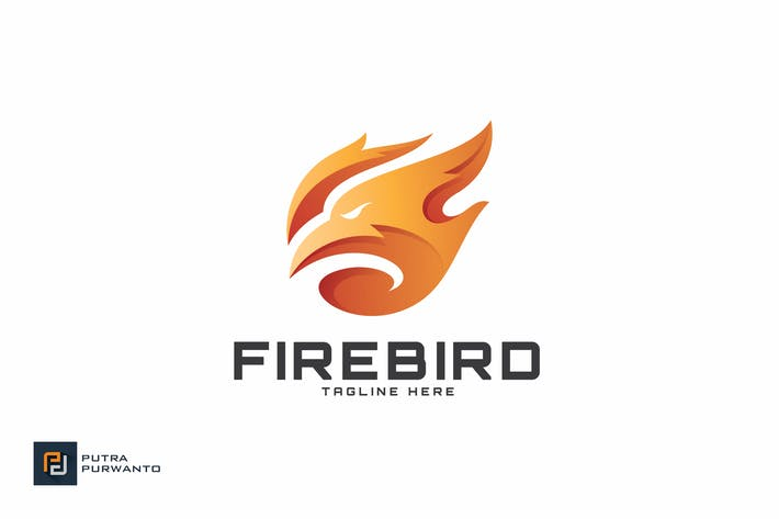 Thumbnail for Fire Bird - Logo Template