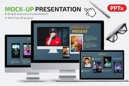 Mockup Powerpoint