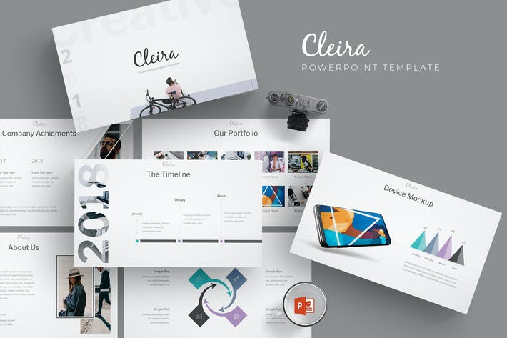 Thumbnail for Cleira - Powerpoint Templates