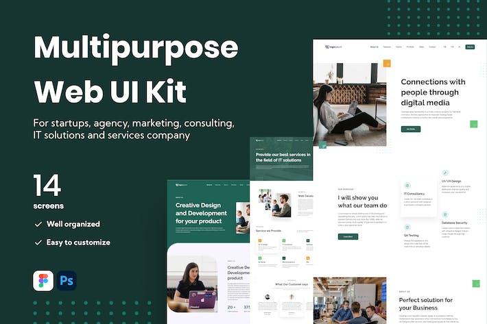 Mehrzweck-Web-UI-Kit