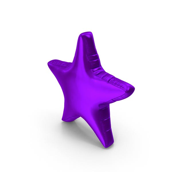 Cover Image for Foil Balloon Star