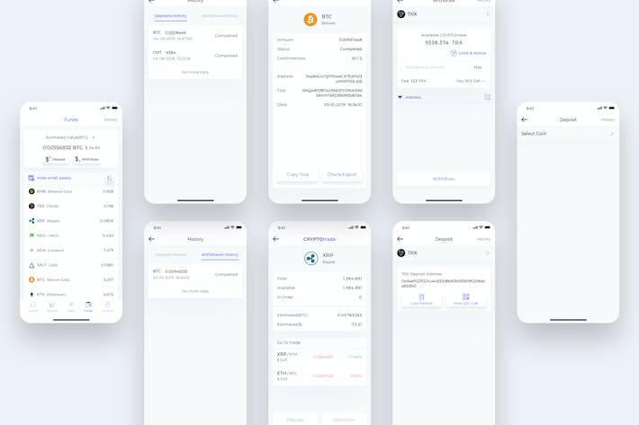 Fund - CryptoTrade UI - FM
