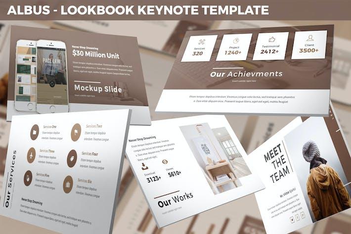 Albus - Lookbook Keynote Template