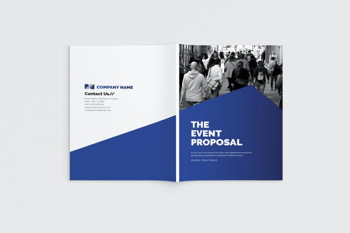 Thumbnail for Event Proposal Brochure