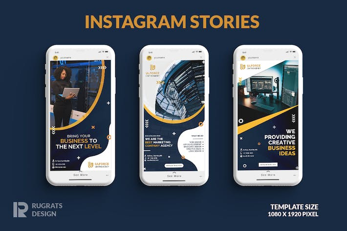 Thumbnail for Business R2 Instagram Story Template