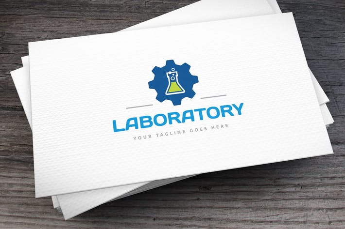 Thumbnail for Laboratory Logo Template