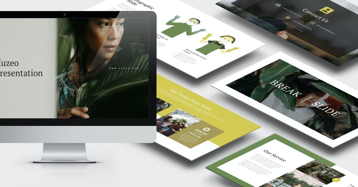 Download Huzeo : Gardening & Botanical Keynote by punkl