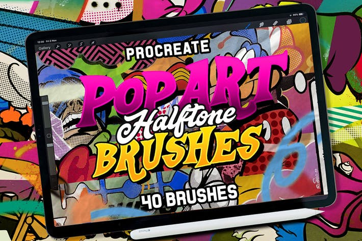 Thumbnail for POP ART BRUSHES KIT