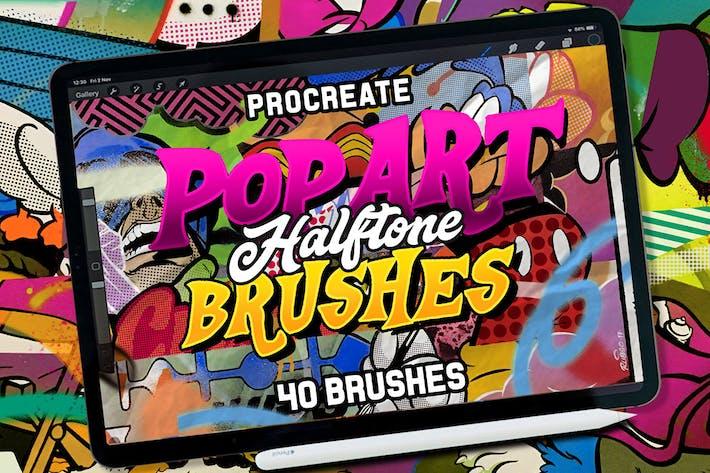 Cover Image For POP ART BRUSHES KIT