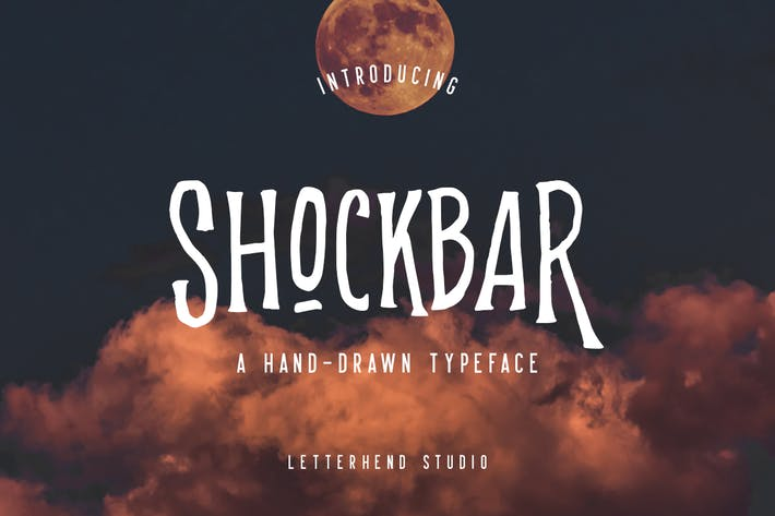 Thumbnail for Shockbar - Pantalla manuscrita Sans