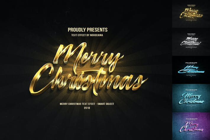 Thumbnail for Christmas Text Effects