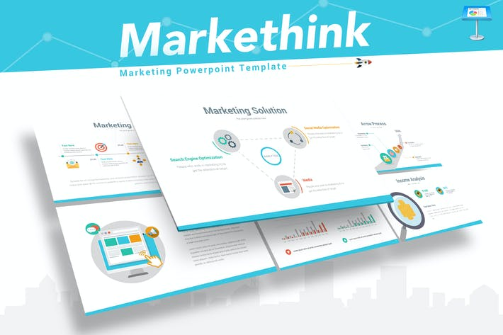 Thumbnail for Markethink - Marketing Keynote Vorlage