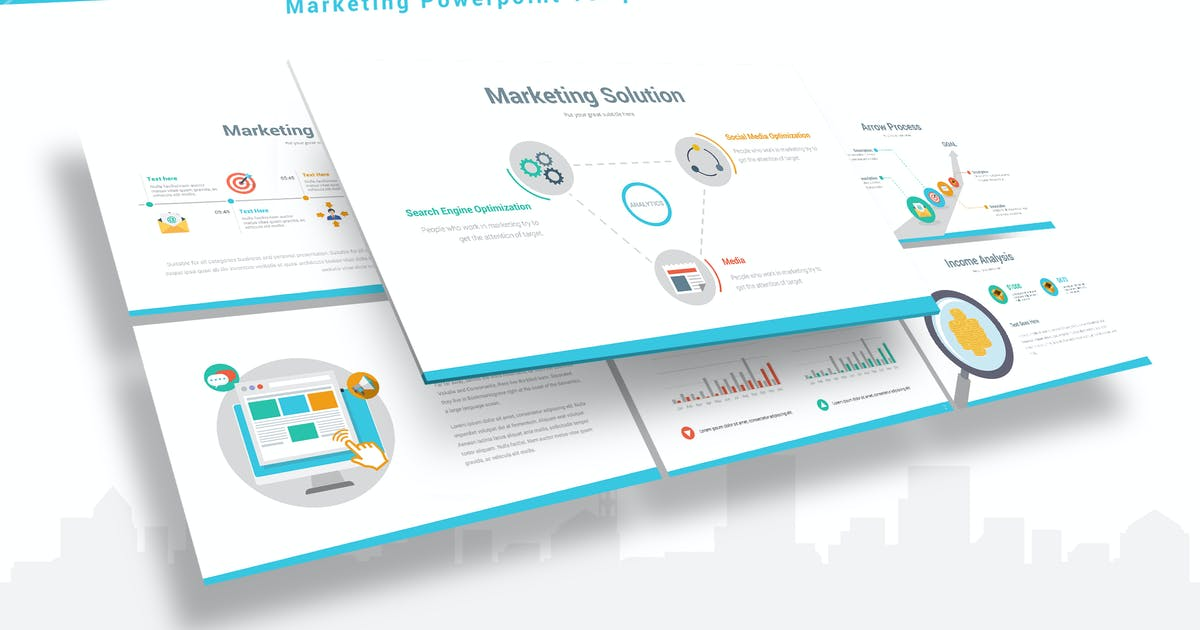 Download Markethink - Marketing Keynote Template by Unknow